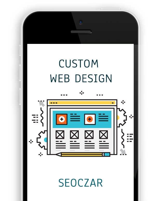 Custom website design-Iphone