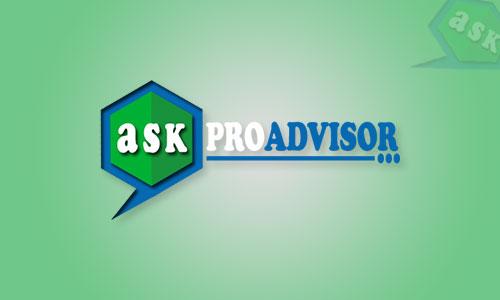Ask Pro Advisor