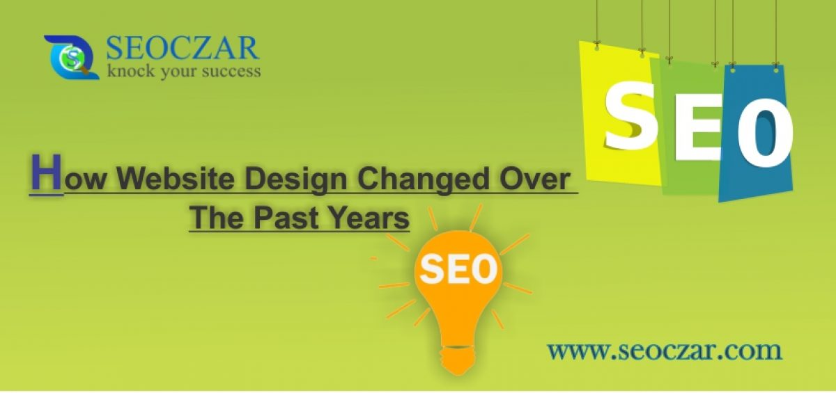 How Website Design Changed Over The Past Years