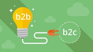 B2B Takes Inspiration from B2C logo