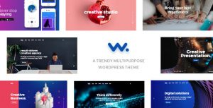 Wilson easy to use wp theme