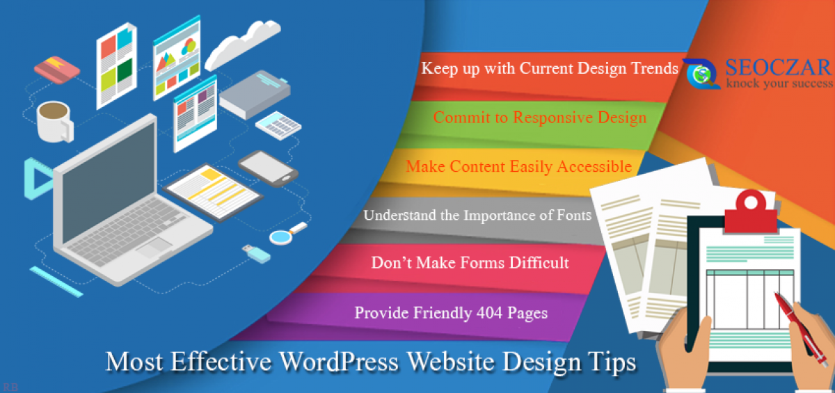 15 Most Effective WordPress Website Design Tips