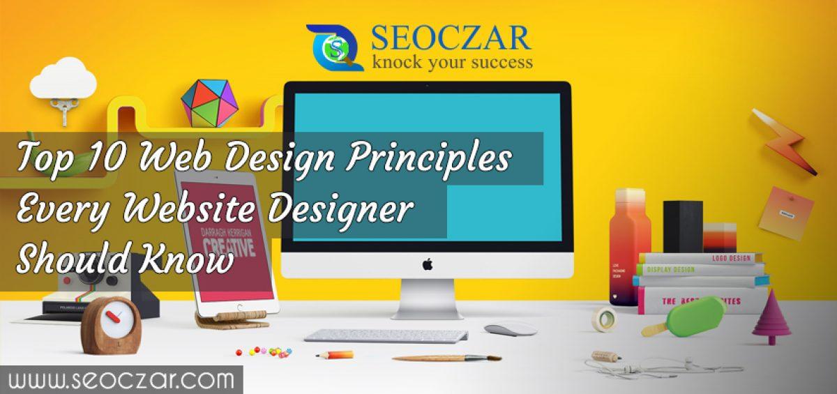 Top 10 Web Design Principles Every Website Designer Should Know