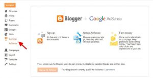 Google AdSense Connected To Blogger